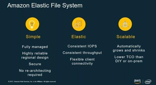 探討 Amazon Web Services 的儲存產品概觀