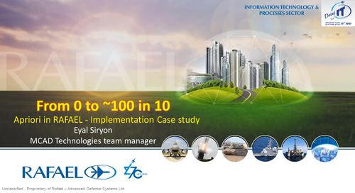 0 to 100 in 10: aPriori Implementation Case Study