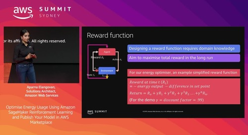 Optimise Energy Usage Using Amazon SageMaker Reinforcement Learning