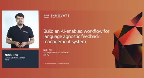 Build an AI-enabled workflow for language agnostic feedback management system