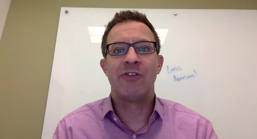 Wisdom Wednesday, Episode 6 | 5 Great B2B Marketing Practices Based on the Fear of Loss