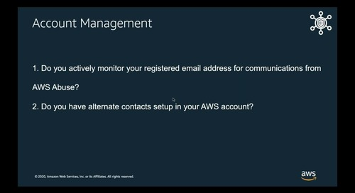 AWS Security Assessment Virtual Edition