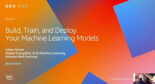 Build, Train and Deploy Your Machine Learning Models