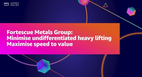 Minimise undifferentiated heavy lifting — maximise speed to value (Sponsored by Stax)