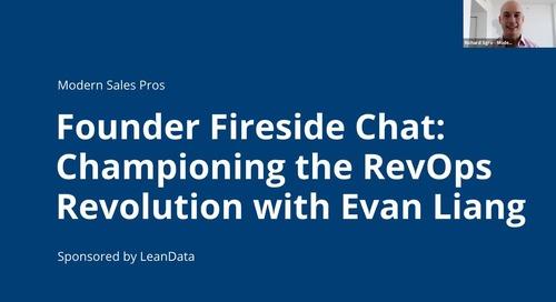 Founder Fireside Chat with LeanData: Championing the RevOps Revolution