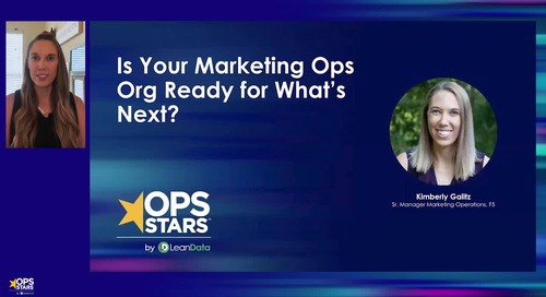 Is Your Marketing Ops Org Ready for What's Next?