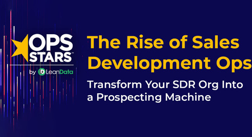 The Rise of Sales Development Ops