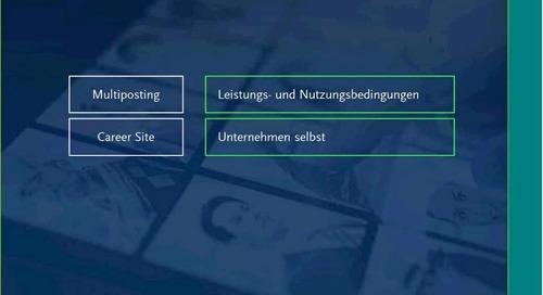 Webinar - Datenschutz - Stolperstein oder Wanderstock für Recruiting 2.0?