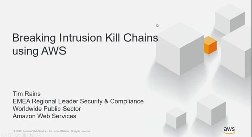 Security Webinar - Breaking Intrusion Killchains