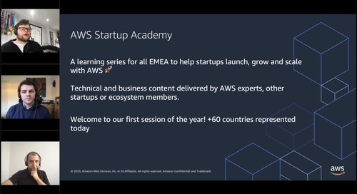 AWS Startup Academy: Start with Machine Learning without knowing a thing