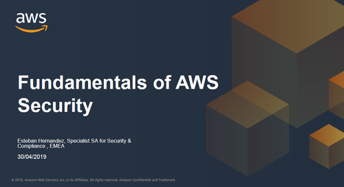 Fundamentals of AWS Security - Recording