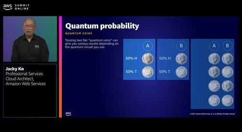 Quantum computing: From zero to hero with Amazon Braket