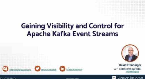 Gaining Visibility and Control for Apache Kafka Event Streams