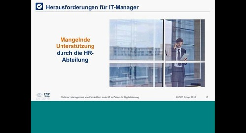 Management von Fachkräften in der IT in Zeiten der Digitalisierung