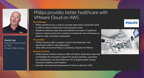 VMware Cloud on AWS: Migrate and innovate at speed