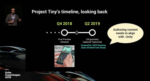 Project Tiny overview and roadmap - Unite Copenhagen