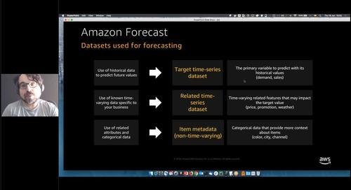 AWS Startup Academy #5: Acelera el desarrollo de tu producto con Machine Learning