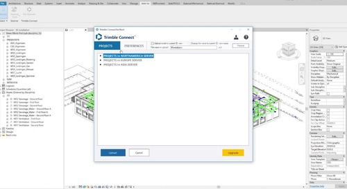 Trimble Connect - BIM to Field: workflow in combination with Stabicad