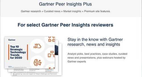 Gartner Peer Insights Explainer