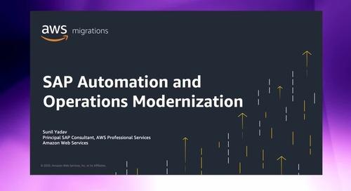 SAP Automation and Operations Modernization [Level 200]
