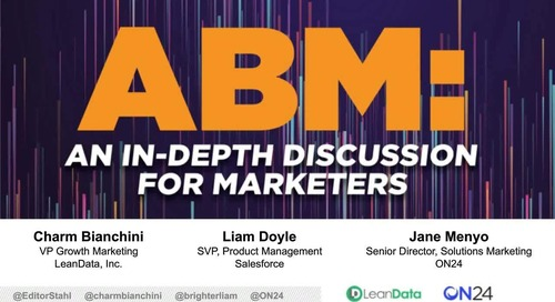 ABM: An In-Depth Discussion for Marketers