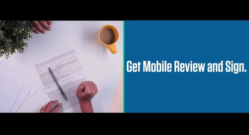 Mobile Review and Sign with Digital Contracting on Dealertrack uniFI®