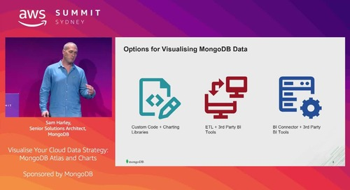 Visualise Your Cloud Data Strategy: MongoDB Atlas and Charts (Sponsored by MongoDB)