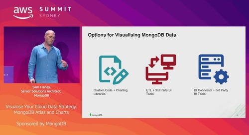 Visualise Your Cloud Data Strategy: MongoDB Atlas and Charts (Sponsored by MongoDB)