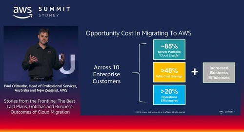 Stories from the Frontline:  The Best Laid Plans, Gotchas and Business Outcomes of Cloud Migration