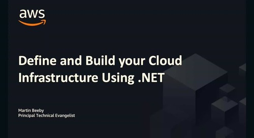Video: Define and Build Your Cloud Infrastructure Using NET