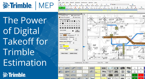 [Webinar Recording] The Power of Digital Takeoff for Trimble Estimation