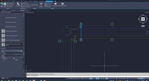 EC-CAD Pipe Training Exercise Part 18: Hanger Preferences and Commands