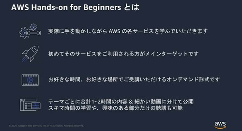 AWS Hands-on for Beginners - - AWS & IAM #1