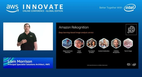 Increasing the value of video with machine learning and AWS Media Services - AWS Innovate