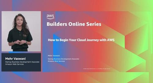Panduan pemula untuk perjalanan cloud Anda dengan AWS
