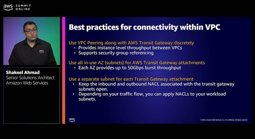 AWS network designs: Best practices to connect your workloads