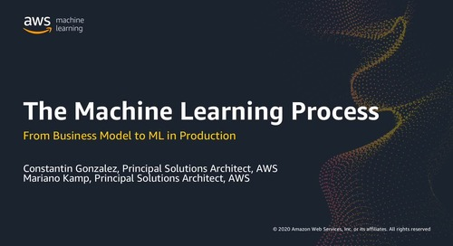 The Machine Learning Process: From Business Model to ML in Production