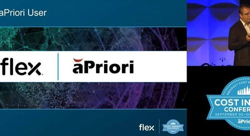 Flex Uses aPriori Across the Globe as Their One Consistent Costing Tool | Full Length Clip