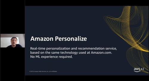 Aggiungi facilmente funzionalità AI alle tue applicazioni con gli Amazon AI Services