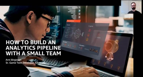 Video: AWS Game Tech Webinar - Analytics