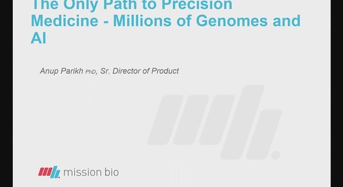 The only path to precision medicine: millions of genomes and AI
