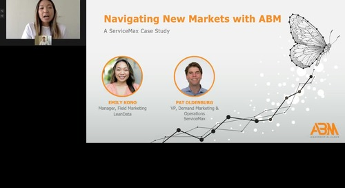 Navigating New Markets With ABM: A ServiceMax Case Study
