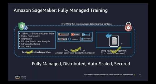[AWS Startup Webinar Series] Machine Learning with Amazon SageMaker