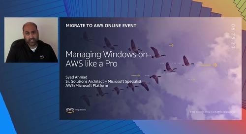 Manage Windows on AWS Like a Pro