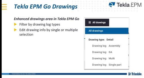 Latest Developments in Tekla PowerFab