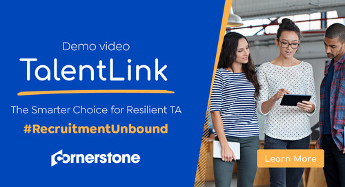 TalentLink Overview Demo   The Smarter Choice for Resilient TA