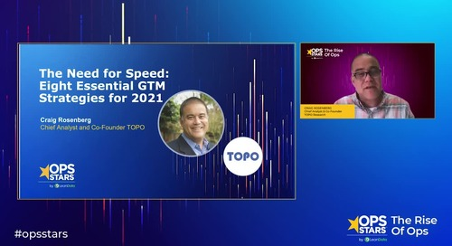 Keynote: The Need for Speed: Eight Essential GTM Strategies for 2021