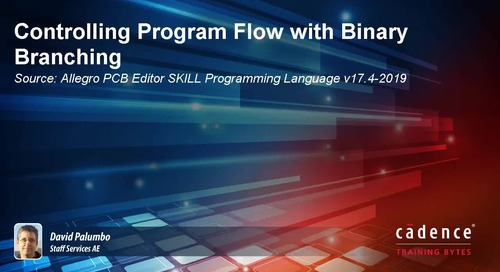 Controlling Program Flow with Binary Branching