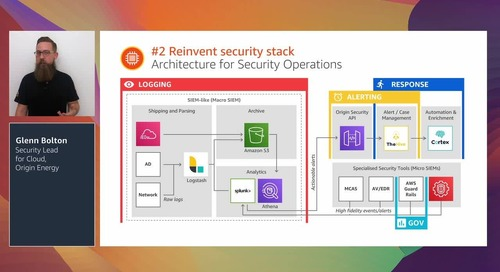 Cloud-enabled security evolution with Origin Energy