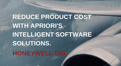 Eliminate cost drivers and improve product profitability with aPriori.